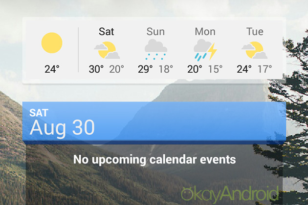 Google-News-and-Weather---Android-widget